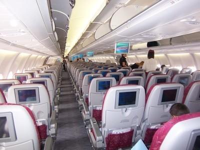 Intérieur Qatar Airways