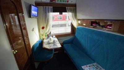 2010, plus de 2000 touristes ont voyagé avec le train reliant moscou