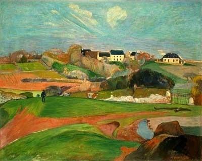 Un paysage français - Paul Gauguin