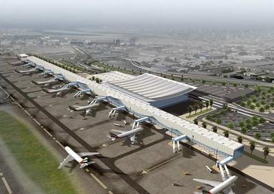 L'aéroport de Delhi, en Inde