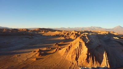 Le Désert d'Antacama au Chili