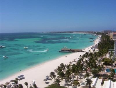 L'île d'Aruba est un petit paradis