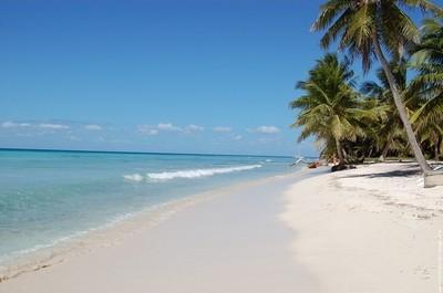 La plage de Bayahibe, République Dominicaine