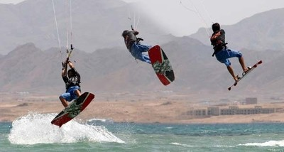 Le kite surf à Hurghada