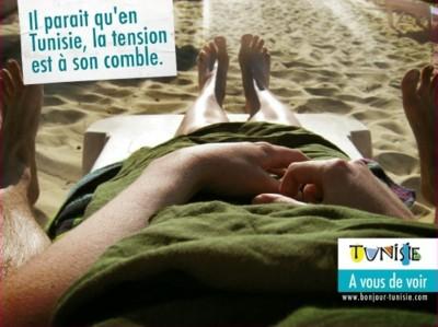 Campagne touristique pour la Tunisie :