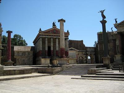 Studios Cinecitta à Rome