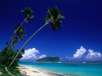 paysage aux samoas