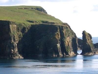 les falaises d'Orkney