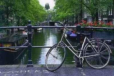Amsterdam en vélo