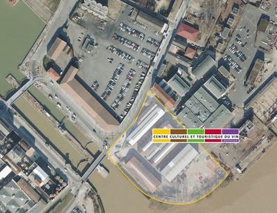 Futur emplacement du Centre culturel et touristique du vin