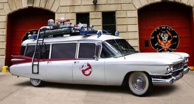 la fameuse Cadillac des Ghostbusters