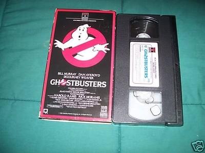 la VHS de Ghostbusters