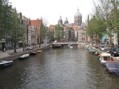 Le canal à Amsterdam