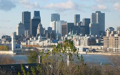 La ville francophone de Montreal au Québec