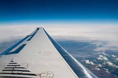 vue sur l'aile