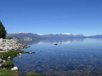 Le lac Nahuel Huapi en Argentine, en temps normal