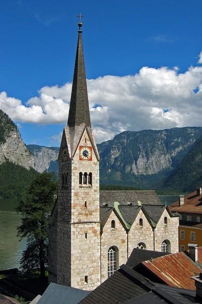 église d'Halstatt