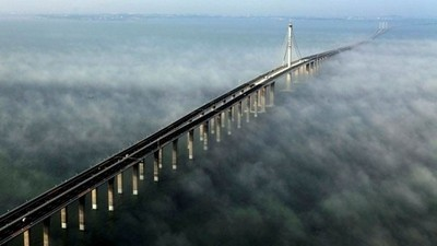 Plus long pont du monde en Chine