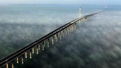 Plus long pont du monde en Chine