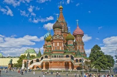 La cathédrale Saint-Basile à Moscou fête ses 450 ans