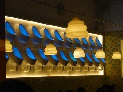 Décoration murale Modern Toilet