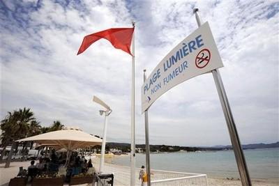 Interdiction de fumer sur la plage Lumière de La Ciotat