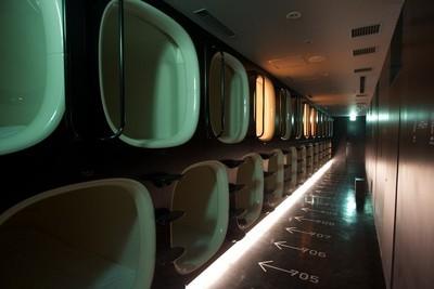 hotel capsule japon
