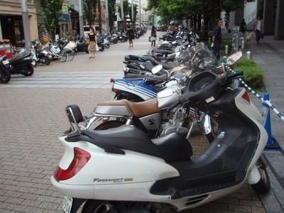 Scooters électriques à la gare Montparnasse