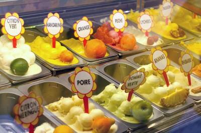Glaces artisanales Fenocchio à Nice
