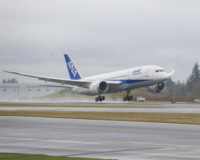 Premier vol All Nippon Airways en Boeing 787 Dreamliner