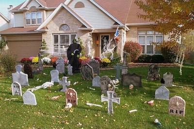 Décoration macabre d'Halloween