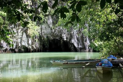 Rivière Puerto Princesa Philippines