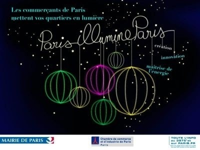 Illuminations de Noël Paris
