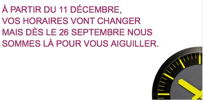 Horaires SNCF 2012