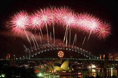 Harbour Bridge fireworks