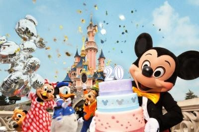 parc disneyland, Mickey et ses amis, anniversaire