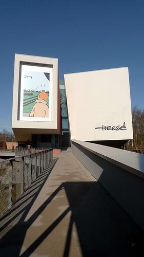 musée Hergé vu de l'extérieur