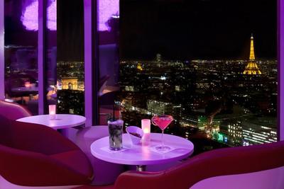 bar avec vue sur Paris