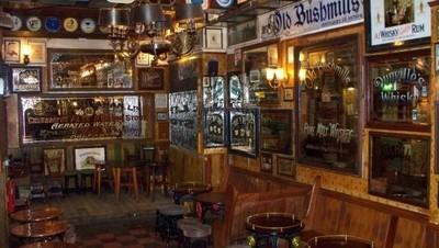 salle du pub le Duke of York