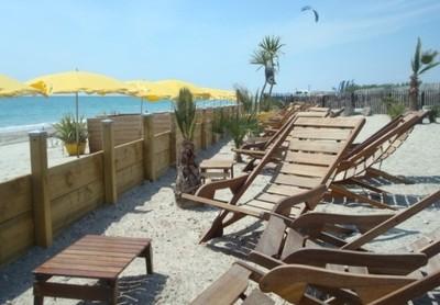terrasse plage