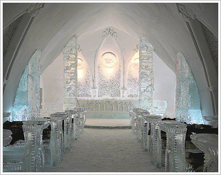chapelle glace