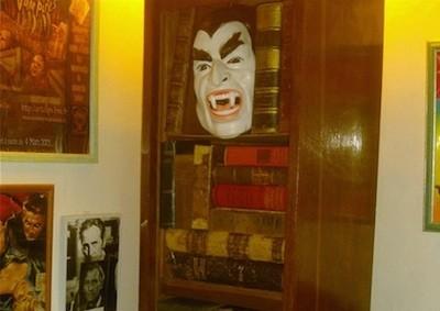 bibliothèques masque dracula