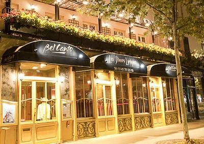 Devanture du Bel Canto Paris