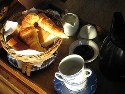 Petit-déjeuner sur le Johanna
