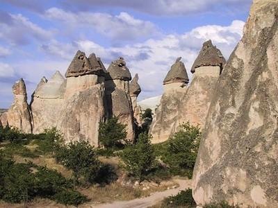 cheminées de fées cappadoce