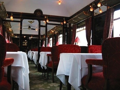 ancien wagon-restaurant