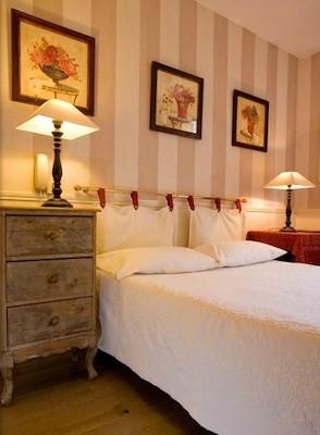 chambre double hôtel de l'avre