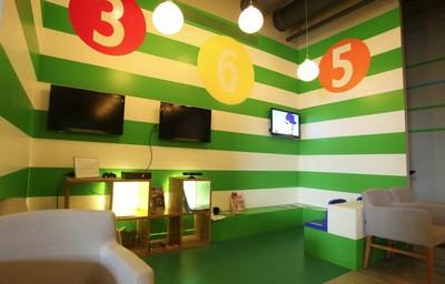 Salle de jeux du bar-restaurant Arrêts de Jeu