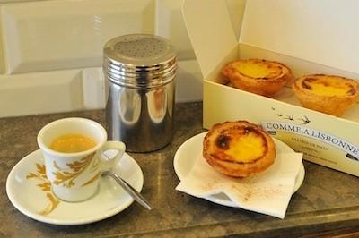café pastel de nata boîte