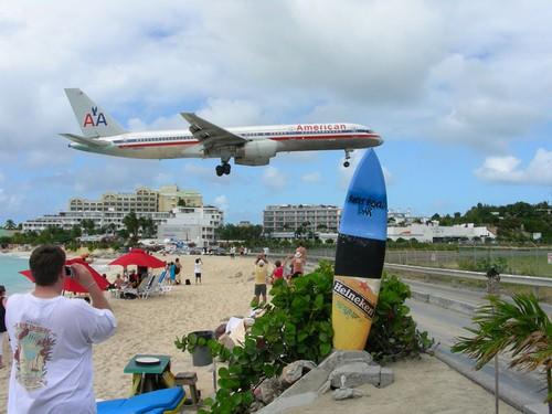 avion plage